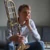 Nieuwe trombonedocent: Simon Emmen